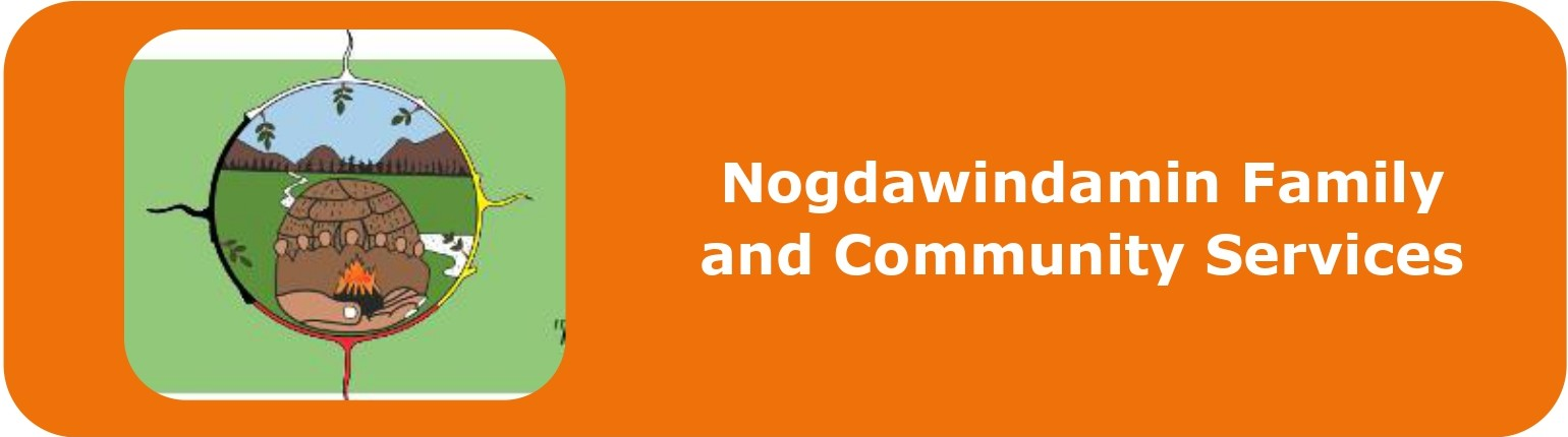 Nogdawindamin Family and Community Services  Click to visit this agency's website.